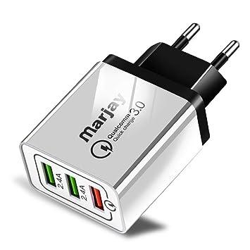 Cargador USB, Cabezal De Carga Rápida QC3.0, Cargador De ...