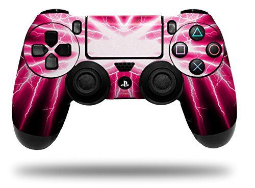 Cheap Vinyl Skin Wrap for Sony PS4 Dualshock Controller Lightning Pink (CONTROLLER NOT INCLUDED)