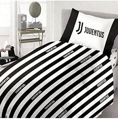 Lenzuola Matrimoniali Juventus.Completo Lenzuola F C Juve Juventus Ufficiale Per Letto Piazza E