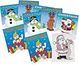 Fun Express Christmas Coloring Books Party Favor (24 Pack)