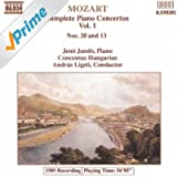 Mozart: Piano Concertos Nos. 13 And 20