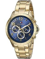 Tommy Hilfiger Womens DANI Quartz Gold Plated Casual Watch (Model: 1781643)