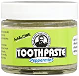 Uncle Harry's Fluoride Free Toothpaste - Peppermint (3 oz glass jar) … (2)