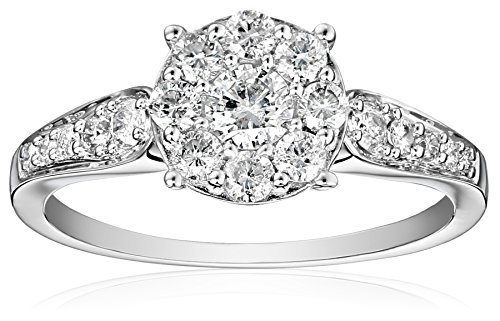 "Kobelli ""Je Taime"" Round Diamond Engagement Ring (3/4 cttw, H-I Color, I1-I2 Clarity)"
