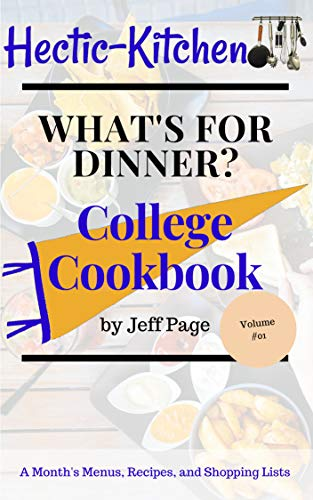 amazon com what s for dinner college cookbook of simple time