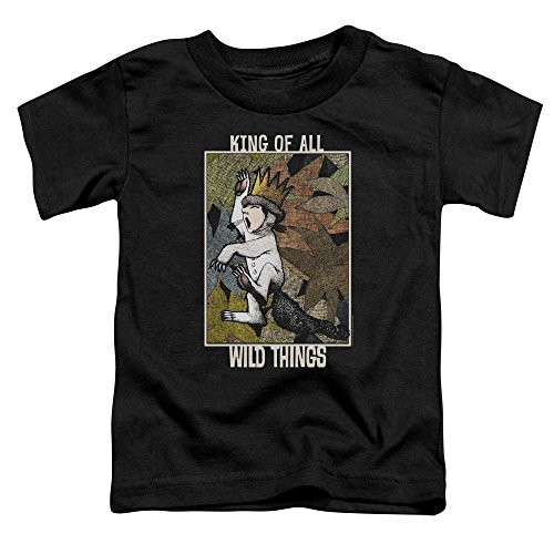 Max King Of The Wild Things (Where The Wild Things are King of All Wild Things Unisex Toddler T Shirt for Boys and Girls)