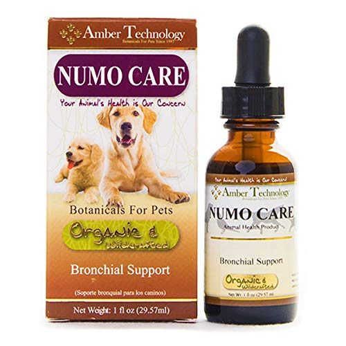 Amber Technology Numo-Care Bronchial Support for Dogs, 1 oz. by Amber Technology