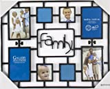Pinnacle 8-Opening Family Collage Frame, Black