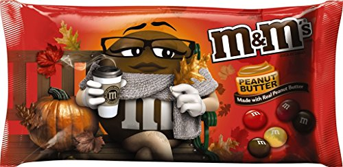M&M Mars Peanut Butter Harvest Blend Halloween Bars, 10.2 oz ()