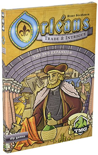 Orléans Trade & Intrigue Board Game Expansion (Intrigue Game)