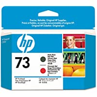 HP73MatteBlk&ChromaticRed Printhead