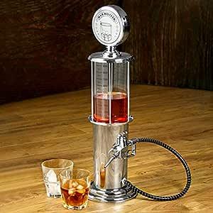 Vintage Gas Pump Liqueur Dispenser 30.4 fl oz | bar@drinkstuff Gas Pump Liquor Dispenser, Vintage Pump Bar Butler Drink Dispenser