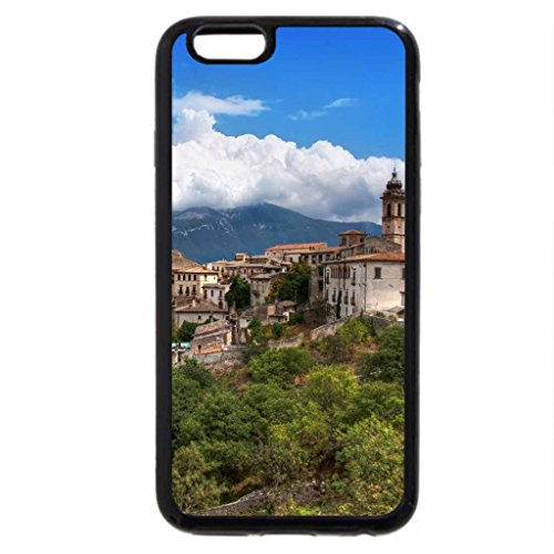 iPhone 6S Case, iPhone 6 Case (Black & White) - Italy City View