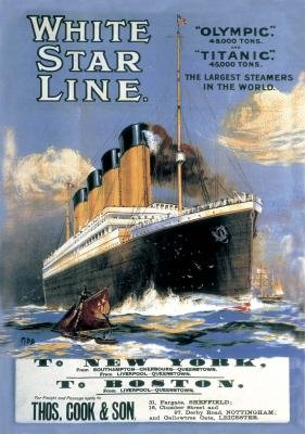 Titanic Poster 250 Piece Wooden Jigsaw Puzzle