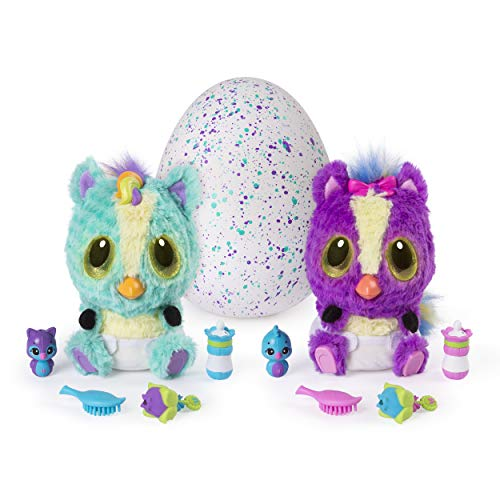 Hatchimals, HatchiBabies Ponette, Hatching Egg with Interactive Toy Pet Baby (Styles May Vary), for Ages 5 and -