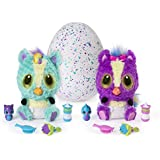 Hatchimals HatchiBabies Ponette Hatching Egg Interactive Pet Baby (Styles May Vary) Ages 5 Up Responsive Plush Surprise Doll Accessories, Great