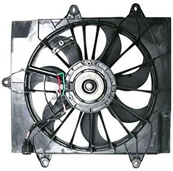 Cooling Direct For//Fit CH3115144 04-05 Chrysler PT Cruiser 2.4L w//Turbo Dual Radiator and Condenser Fan Assembly