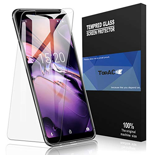 UMIDIGI Mobile A3 Screen Protector, TopACE UMIDIGI Mobile A3 Tempered Glass 9H Hardness [Case Friendly][Anti-Scratch][Bubble Free] Compatible for UMIDIGI Mobile A3 (2 Pack)