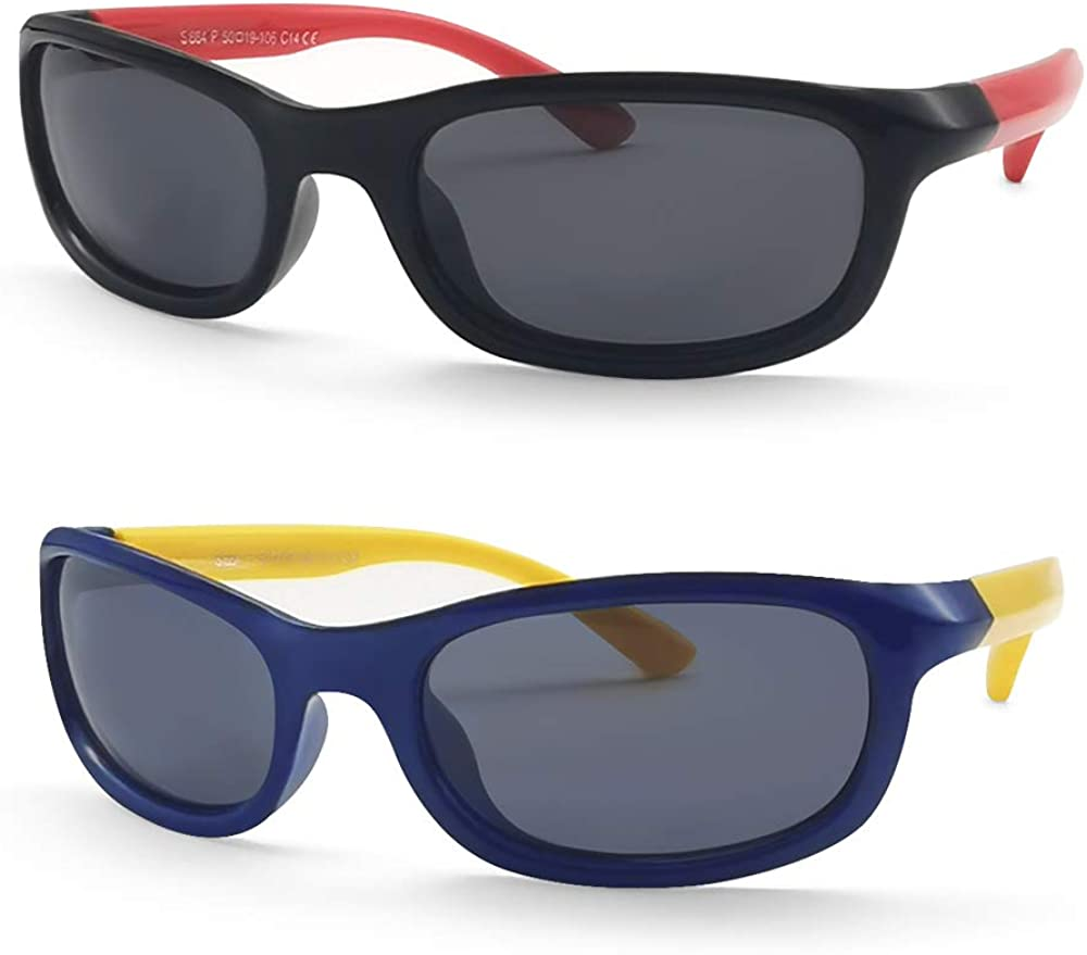 Children Kids Toddler Sunglasses Shades UV400 MIRROR LENS Boys Girls Glasses FV