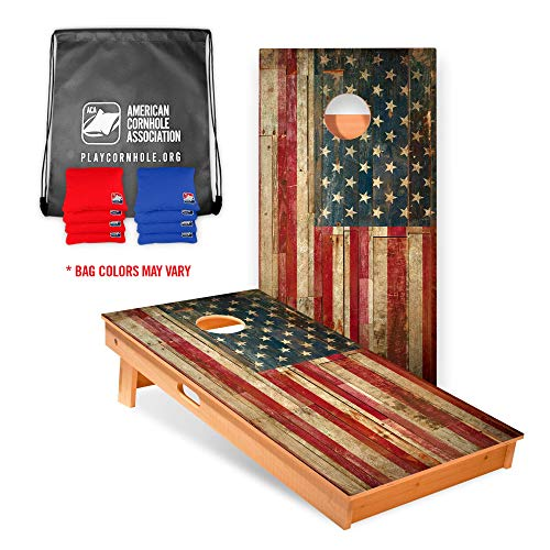 American Cornhole Association Official Cornhole Board and Bags Set with