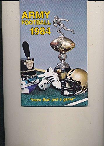 1984 Football USMA Army Press Media College Guide pgs bxcfg84 em