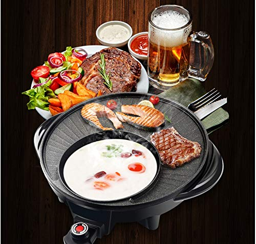 Maifan Stone Korean Hotpot with Grill by BXB | Multi-Function Non-Stick Bottom Electric Cooker | Shabu Shabu and Grill Multi-Cooker by SHOPBXB