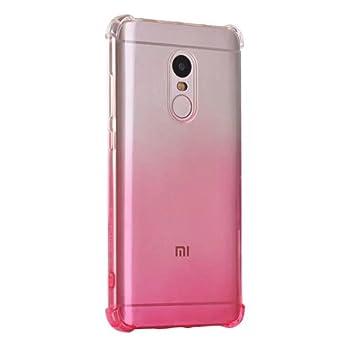 SMTR Xiaomi Redmi Note 4x Funda, Xiaomi Redmi Note 4x Color de degradado Funda Gel Suave TPU Case - Carcasa Resistente a los Arañazos para Xiaomi ...