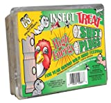 C and S Products Insect Treat Suet Plug, 12-Piece