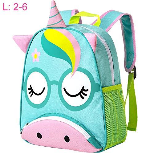 Toddler Backpack for Girls, 12