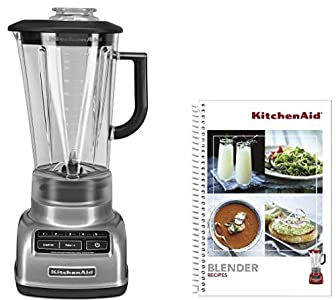 KitchenAid KSB1575CCU 5-Speed Diamond Blender – and it whips it right into a nice smoothie. Once in a while if I don't
