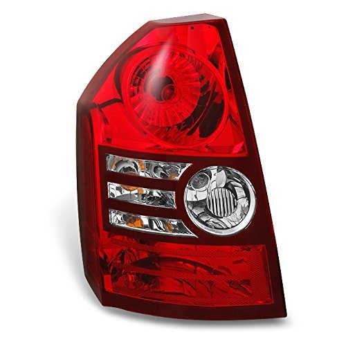 Chrysler 300 Base   Touring Red Clear Rear Tail Light Brake Lamp Driver Left Side Replacement ()