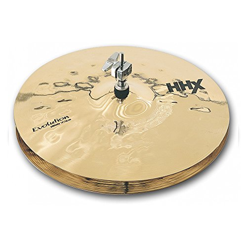 Sabian 14-Inch HHX Evolution Hi-Hat Brilliant Finish for sale  Delivered anywhere in USA