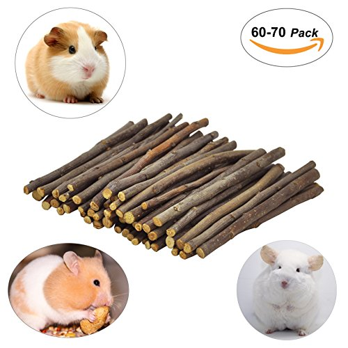 cks for Chinchilla, Guinea Pigs, Hamsters, Rabbits, Parrots and Other Small Animals (Hamster Chew Sticks)