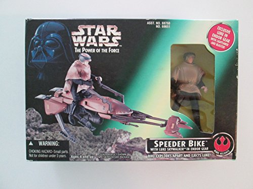 Star Wars the Power of the Force Speeder Bike ()