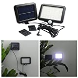 Diamondo 56 LED Solar Power Motion Sensor Waterproof Outdoor Garden Security Lamp