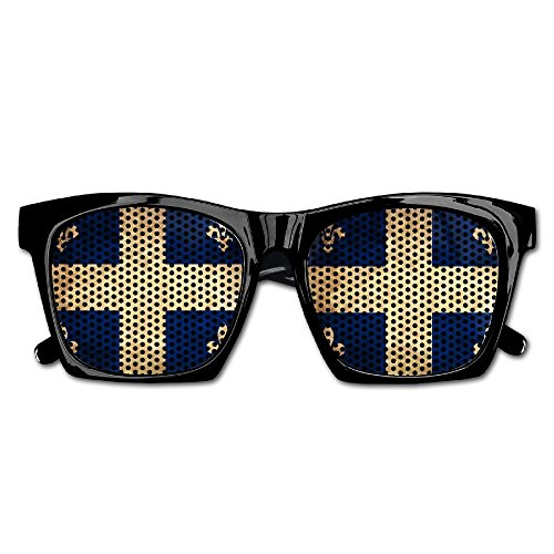 Xing Stars Colorful Summer Unisex Retro Quebec Vintage Texture Canada Flag Fashion Party Costume - Vintage Canada Sunglasses