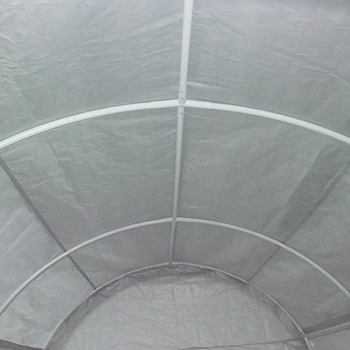 Quictent 20'X13'x10' Heavy Duty Carport Canopy Garage Shelter for Truck/ SUV/ Boat Silver by Quictent (Image #2)