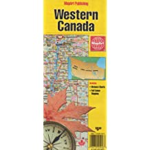 Western Canada: Includes Distance Charts, Full Colour Mapping