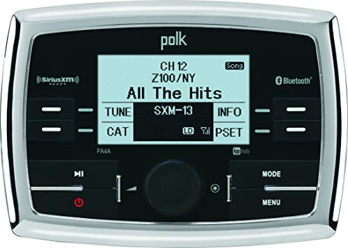 Polk Audio PA4A WB/AM/FM/USB/SiriusXM Ready/Bluetooth Stereo with App -