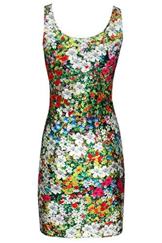 Pinkyee - Vestido - para mujer Pattern Color