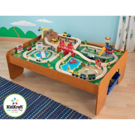100-piece-kidkraft-ride-around-town-train-table-and-set-with-2-bins