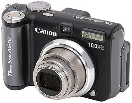 amazon com canon powershot a640 10mp digital camera with 4x rh amazon com canon powershot a640 manual download canon powershot a640 manual download
