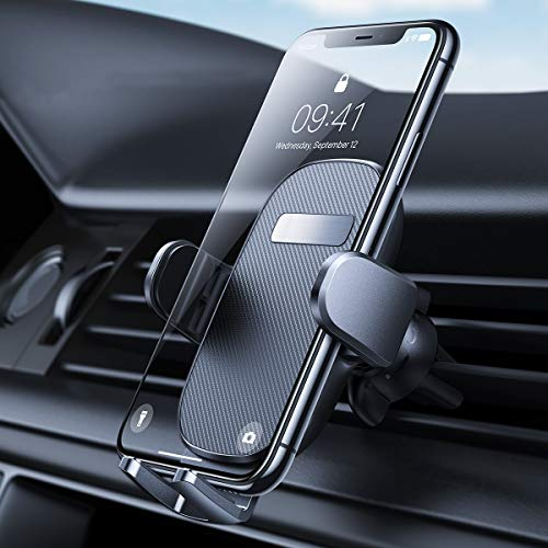 [2020 Upgraded] Phone Holder for Car, AINOPE Car Phone Holder [Strong Grip] iPhone Car Mount [360° Rotation] Car Phone Mount Vent [Case Friendly] Compatible with iPhone and All Other Smartphone