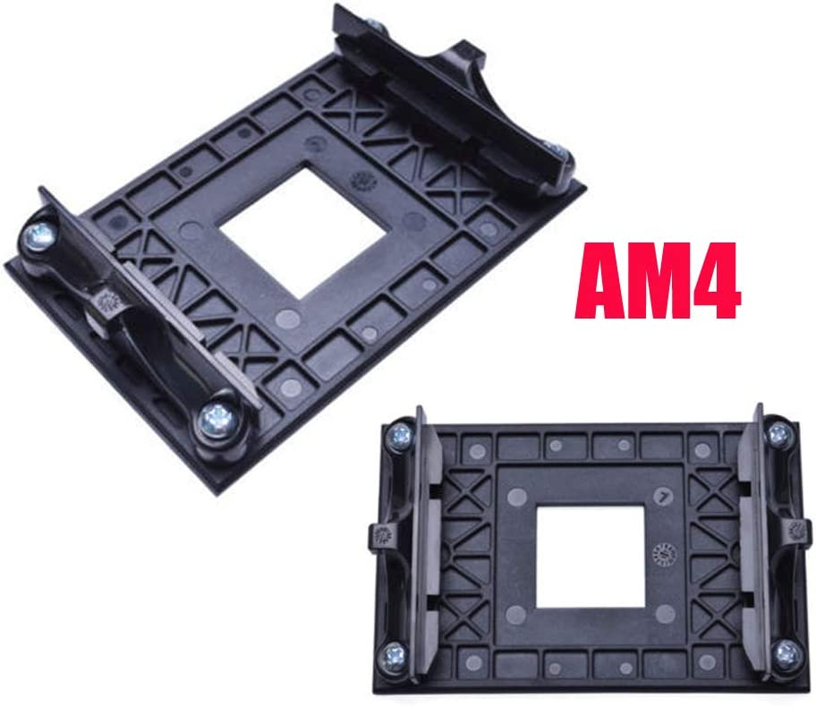 AM4 mounting Bracket CPU Socket Mount Cool Fan Heatsink Bracket Dock Base for AMD AM4 B350 X370 A320 X470 (1-Pack)