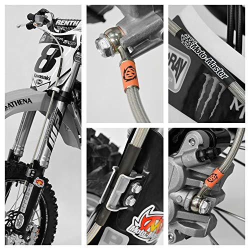 Moto Master 212022/Moto Master//–/Brake Hose, Front, KTM 85/SX 17//14 13-17//85/SX 19, 16