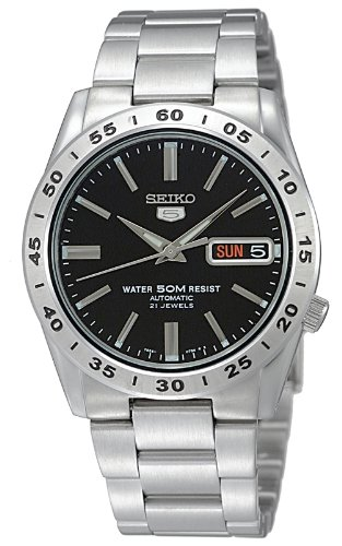 Seiko 5 Japan (SEIKO watch SEIKO 5 (Seiko Five) Automatic Day-Date Japan SNKE01J1 men's)