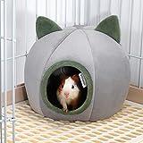 EONMIR Guinea Pig House, Hamster Hedgehog Winter