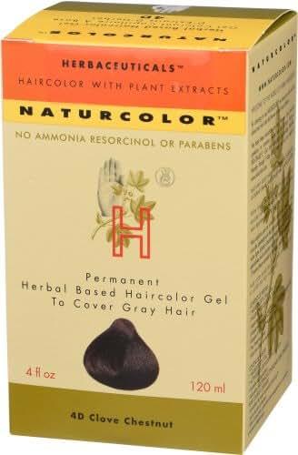 Naturcolor 4D Clove Chestnut Hair Dyes, 4 Ounce