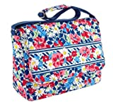 Vera Bradley Messenger in Summer Cottage