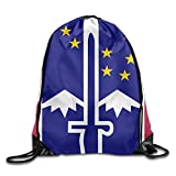 TXHLEL 172nd Infantry Brigade Print Drawstring Backpack For Sale